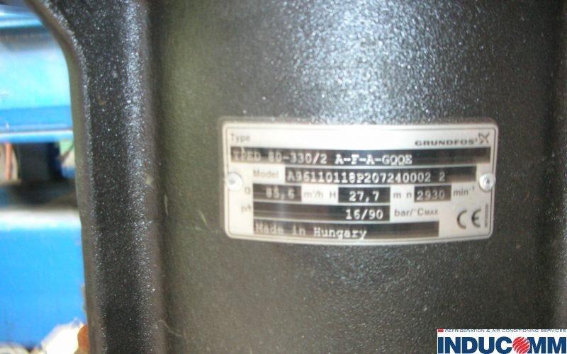 601 Grundfoss Plate