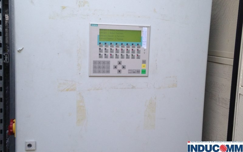 IS14 132 Chiller Control Panel