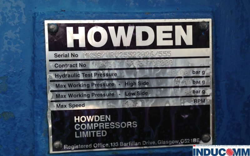 IS16 318 Howden-Screw Pack