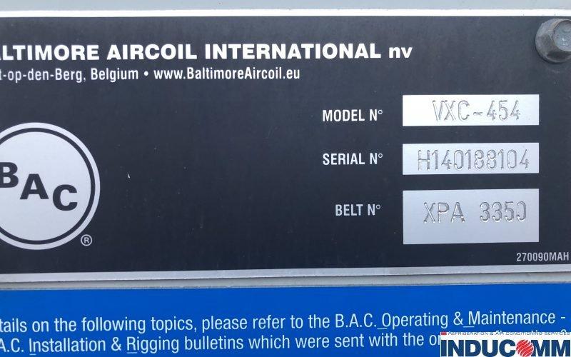 BAC Condenser Nameplate